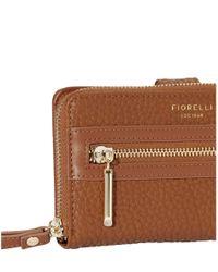 Fiorelli - Brown Abbey Dropdown Zip Around - Lyst