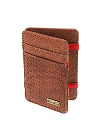 Icon Brand Brown Trick Wallet Point Blank for men