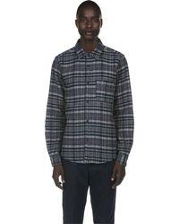 A.P.C. | Black Trevor Overshirt for Men | Lyst