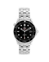 Omega Black Stainless Steelseamaster Co-axial 212.30.41.20.01.003 Men