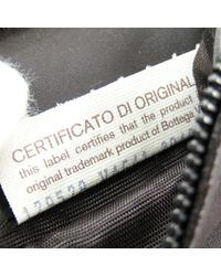 Bottega Veneta Brown Intrecciato Leather Clutch Bag