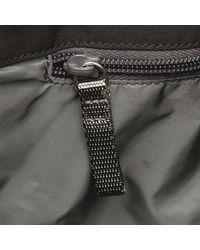 Prada Black Nylon Sport Line Messenger Bag