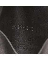 Gucci Black Leather Web Key Holder