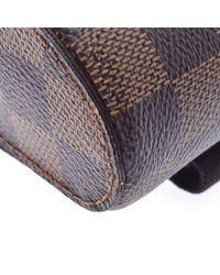 Louis Vuitton Brown Damier Ebene Canvas Geronimos Bag