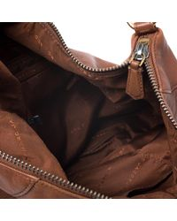 Marc By Marc Jacobs Brown Leather Washed Up Billy Hobo