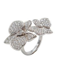 Cartier White Gold Orkit Diamond Ring
