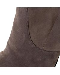 Stuart Weitzman Gray Taupe Suede Highland Thigh High Boots Size 38