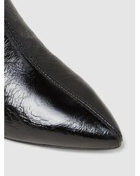 3.1 Phillip Lim Black Blitz Patent-leather Ankle Boots