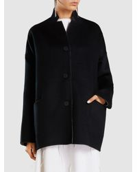 Oyuna - Gray Reversible Two-toned Cashmere Coat - Lyst