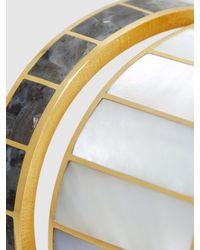 Monica Sordo | Metallic Yma 21kt Gold-plated Multi-stone Cuff | Lyst