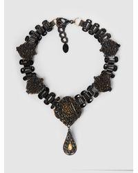 Erickson Beamon - Multicolor Dark Shadows Necklace - Lyst