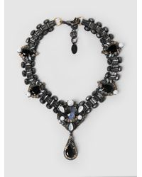 Erickson Beamon - Multicolor Dark Shadows Necklace - Lyst