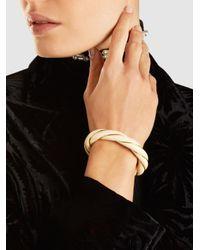 Aurelie Bidermann - Metallic Diana Gold-tone Resin Bangle - Lyst
