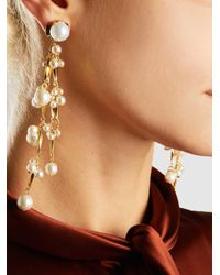 Erickson Beamon | Metallic Pretty Woman Pearl Earrings | Lyst