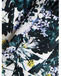 Erdem - White Fayola Long Sleeve Silk Blouse - Lyst