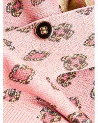 Baum und Pferdgarten - Pink Caresse Rose Patterned Cardigan - Lyst