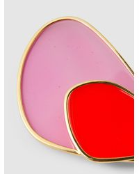 Peter Pilotto Multicolor Gold-tone Acrylic Earrings