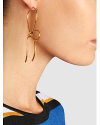 Simone Rocha - Metallic Gold-plated Bow Earrings - Lyst