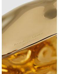 Proenza Schouler Metallic Hammered Gold-tone Brass Cuff