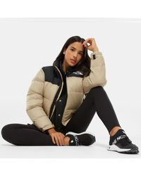 The North Face Natural Women's 1996 Retro Nuptse Jacket Twill Beige