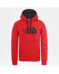 The North Face New Peak Kapuzenpullover Fiery in Red für Herren