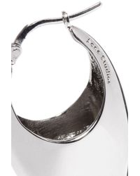 Acne Metallic Woman Nisha Silver-plated Earrings Silver