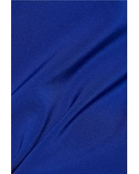 DKNY Blue Ponte Slim-leg Pants