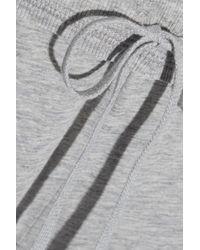 Skin - Gray Jersey Ny Track Pants - Lyst
