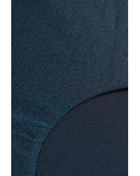 Zimmermann Blue Low-rise Bikini Briefs Petrol