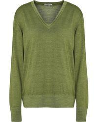 Tomas Maier Green Wool Sweater