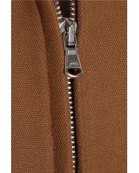 3.1 Phillip Lim - Brown Cotton-blend Jacket - Lyst