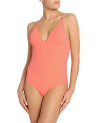 Stella McCartney Orange Timeless Basics Swimsuit