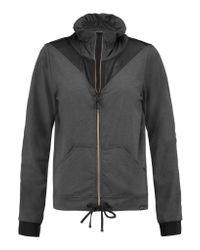 Koral - Gray Pace Mesh-paneled Stretch-jersey Jacket - Lyst