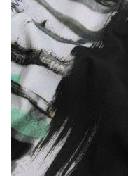 Norma Kamali Black Eric Printed Low-rise Bikini Briefs
