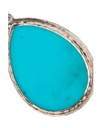 Ippolita - Blue Silver-tone Stone Earrings - Lyst