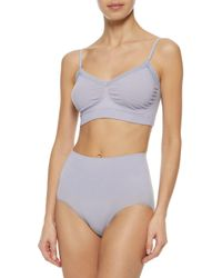 Yummie By Heather Thomson - Purple Stretch-jersey High-rise Briefs - Lyst