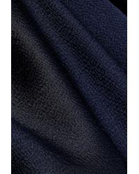 Roksanda - Blue Ilya Hammered Silk-satin Top - Lyst