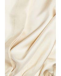 Nina Ricci Multicolor Silk-twill Top