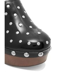 Marc By Marc Jacobs - Black Dylan Nail Head Clogs - Lyst