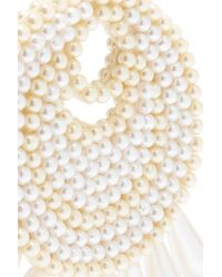 Kenneth Jay Lane - White Gold-tone Faux Pearl Earrings - Lyst