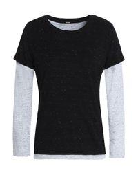 Monrow Black T-shirt