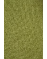 Magaschoni Green Cashmere Scarf