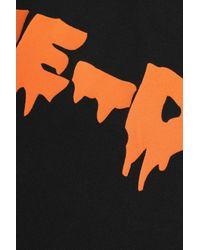 McQ Alexander McQueen Black Printed Cotton-jersey T-shirt