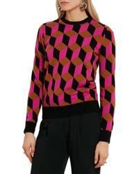 Michael Kors   Multicolor Cashmere Sweater   Lyst