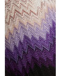 Missoni Multicolor Crochet-knit Slim-leg Pants