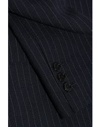 Golden Goose Deluxe Brand - Blue Pinstriped Wool And Mohair-blend Blazer - Lyst