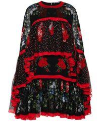 Alexander McQueen Studded Stretch-knit Dress Black