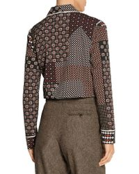 Thakoon - Multicolor Addition Printed Crepe De Chine Shirt - Lyst
