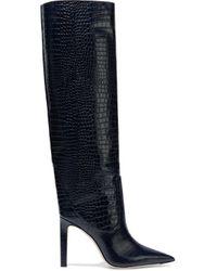 Jimmy Choo Blue Mavis 100 Boots