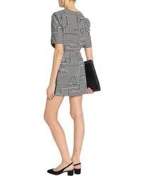 Victoria, Victoria Beckham White Cotton Mini Skirt